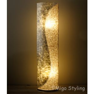 Vloerlamp Schelpen design zandkleur