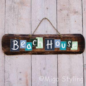 Beachhouse bord