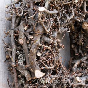 Bonsai krans 30 cm Naturel