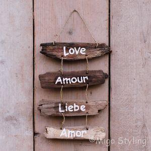 Driftwood Love Amour Liebe Amor
