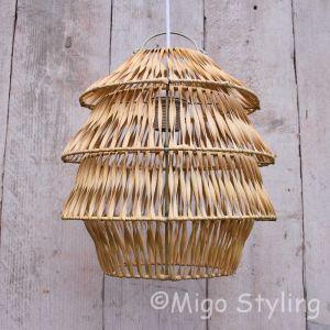 Hanglamp Bali naturel klein
