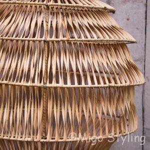 Hanglamp Bali naturel middel