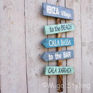 Ibiza / Cala Bassa bord