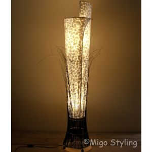 Vloerlamp Parelmoer schelpen 30 cm