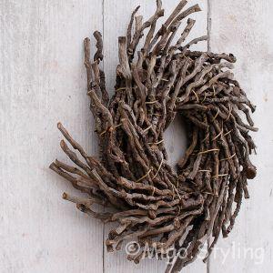Krans Botay naturel 30 cm