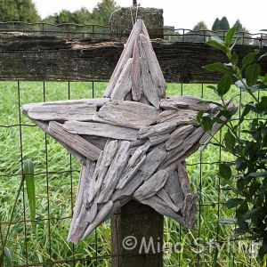 Ster van driftwood withe wash
