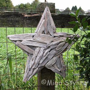 Ster van driftwood white wash