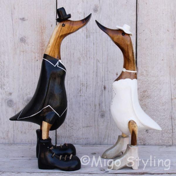 Bruidspaar eend