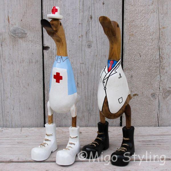 Dokter en Zuster eenden set