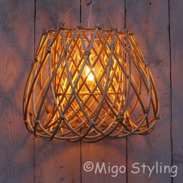 Hanglamp rotan naturel