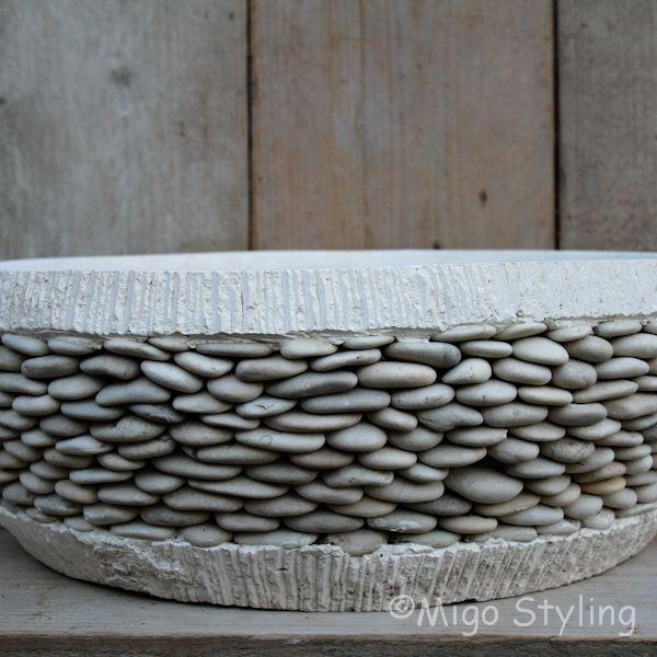 Riverstone potten laag model