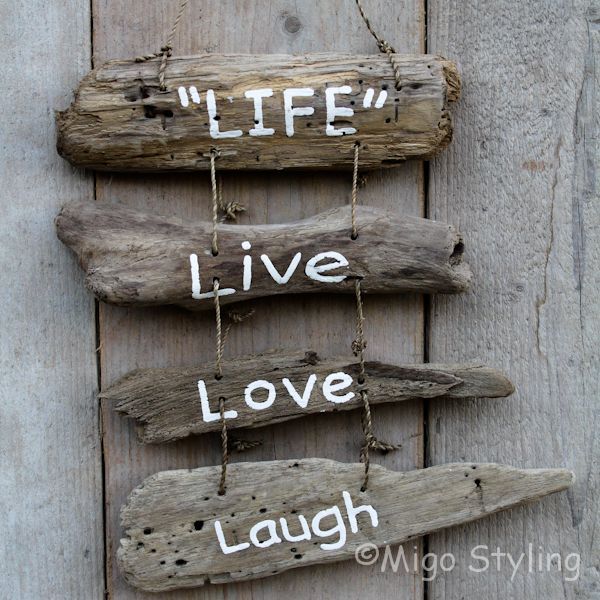 Driftwood Life live love laugh