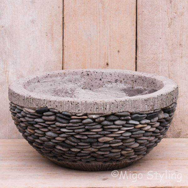 Riverstone potten hoog model