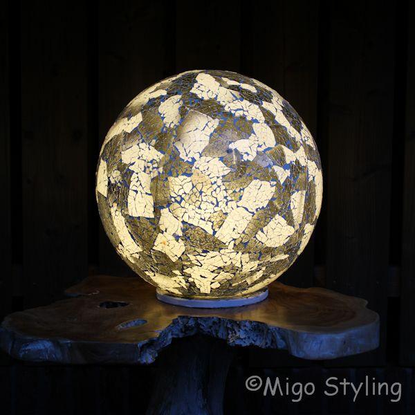 Mozaiek design tafellamp bol