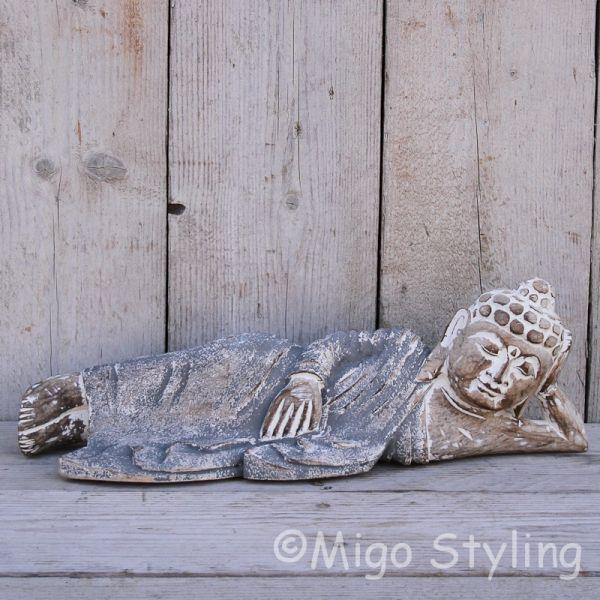 Liggende Boeddha 52cm