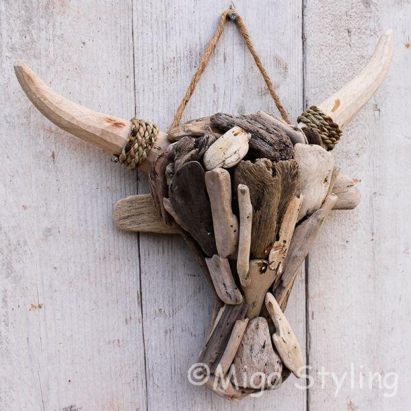 Ossenkop driftwood small -drijfhout