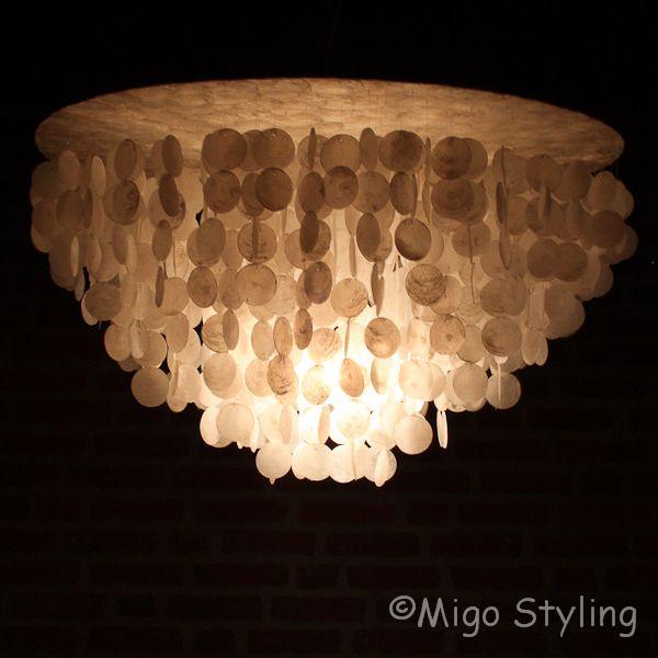 Schelpenlamp / hanger 80 cm