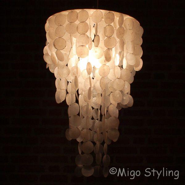 Schelpenlamp / hanger