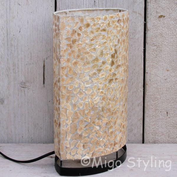 Tafellamp copper gevlokt 30 cm