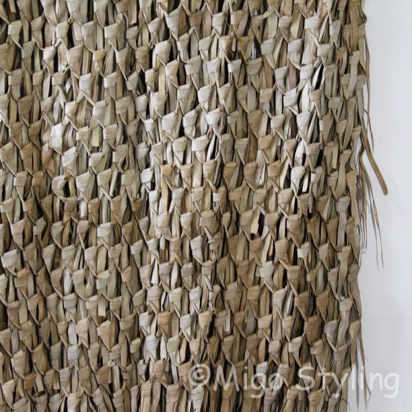 Wandkleed gevlochten palmblad XL