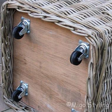 Voorkom sjouwen met houtblokken